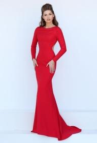 long-sleeves-red-chiffon-mermaid-prom-dress-3